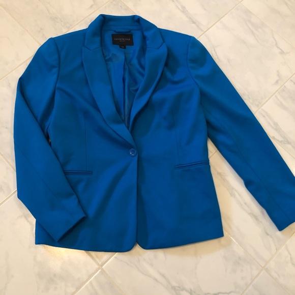 Kenneth Cole blue blazer jacket.